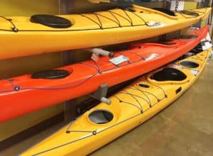 p&H Scorpio sea kayaks