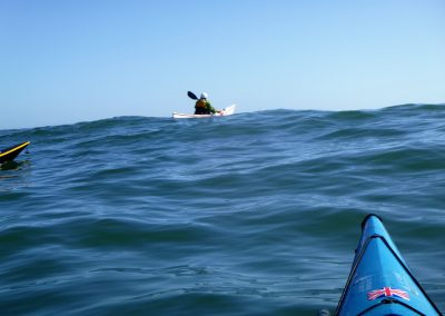 ayak on a wave crest matanzas inlet