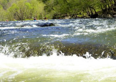 pourover on the pigeon river