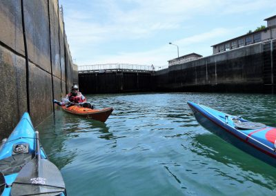 soo locks kayaks
