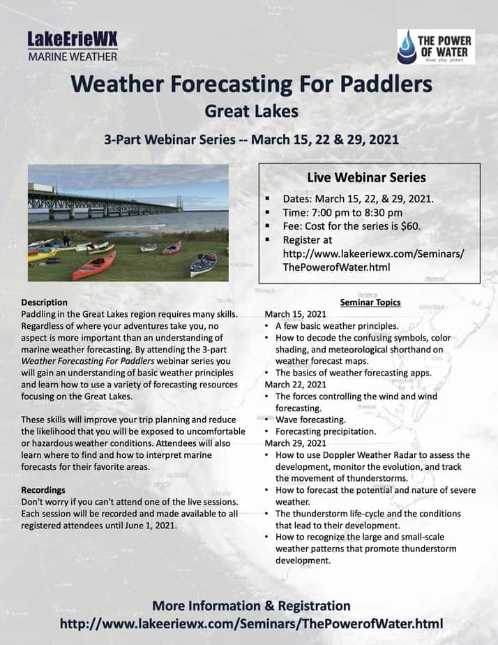 weather forecasting course flyer